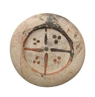 An Etruscan Genucilia group pedestal dish