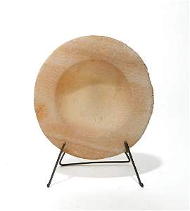 A lovely Cypriot alabaster dish