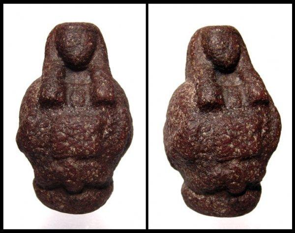 3: Egyptian red porphyry canopus of Osiris