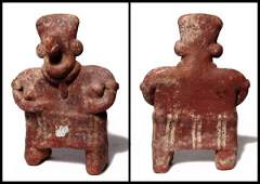 240 West Mexico terracotta female effigy figure