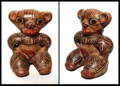 242 Nicoya polychrome whistle figure from Costa Rica