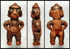 243 Costa Rica Nicoya Galo Polychrome figure