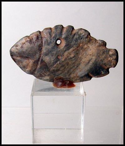 3: Pre-Dynastic Egypt. Stone fish palette