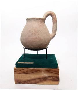An Early Bronze Age handled jar