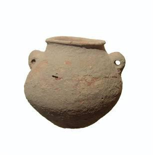 A Middle Bronze Age ceramic jar