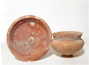 A pair of Late Bronze Age bowls