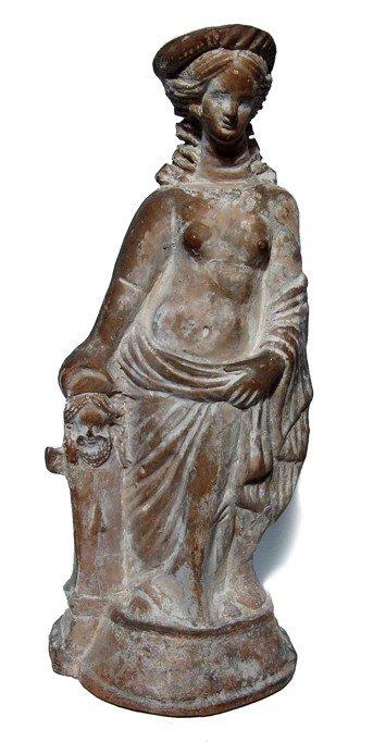 155:12 7/8 Large Hellenistic terracotta figure of Venus