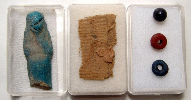 11: Group of Small Antiquities from an Old Collection