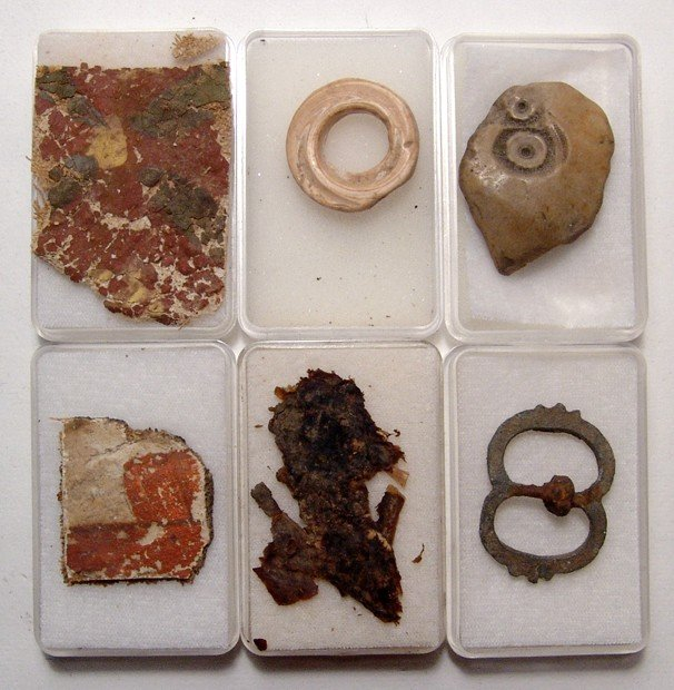 21: Group of Small Antiquities from an Old Collection