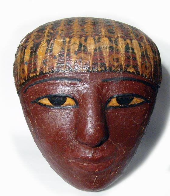 2: Choice cartonnage mask from a sarcophagus - 2