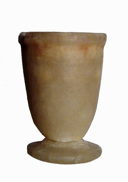 8: Ptolemaic Egypt, small alabaster jar,