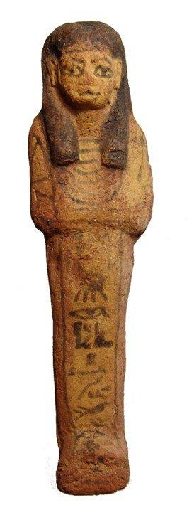 38: Attractive Late New Kingdom terracotta ushabti