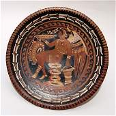 199: Apulian plate attributed to the Baltimore Painter