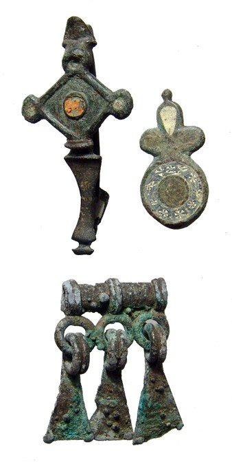 24: Roman Britain brooches and Luristan element