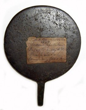 Bronze Egyptian Mirror, Ex 19th Cent. Collection