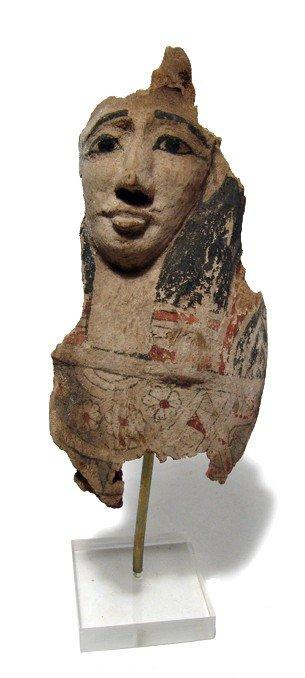 86: Facial portion of a Ptah-Sokar-Osiris figure