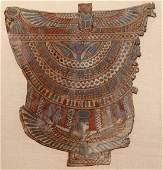 165: Egypt, large framed colorful cartonnage panel