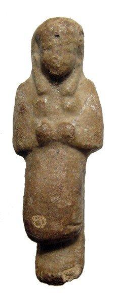"""5: Egypt, 21st Dynasty overseer or """"Reis"""" ushabti"""