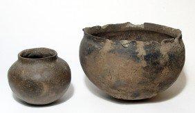2 Pre-Columbian / Native American Vessels