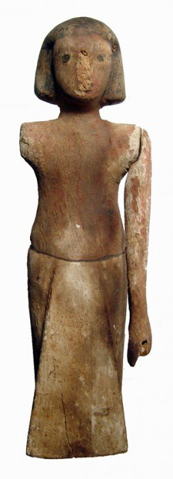 Middle Kingdom Wooden Figure, Egypt
