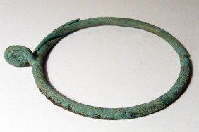 Villanovan Bronze Necklace Or Torque, Italic