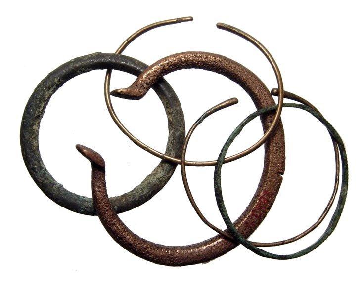11: 5 bronze bracelets, Western Asia