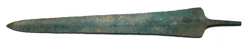 158 Luristan bronze short sword