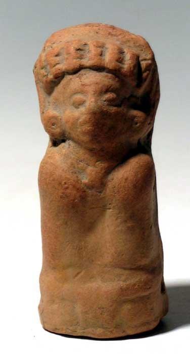 269: Attractive Maya rattle figure from Guatemala