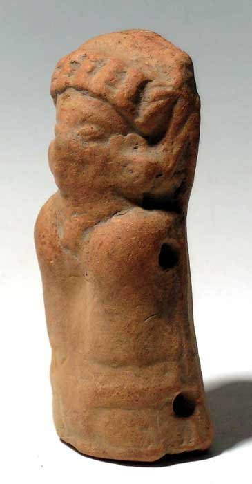 269: Attractive Maya rattle figure from Guatemala - 2