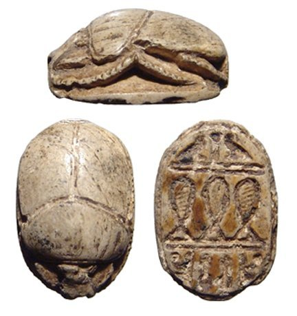 16: Middle Kingdom scarab, Ex Royal Athena Galleries