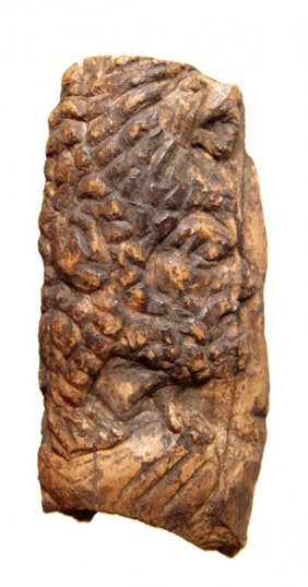 21: Graeco-Roman, carved relief depicting Herakles