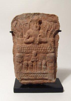 151: Old Babylonian plaque, ex Bonham's London