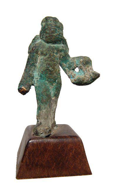 Roman bronze figure of Eros, c. 1st-2nd Cent AD