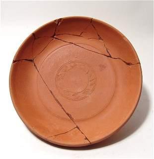 Roman orange-ware bowl, North Africa