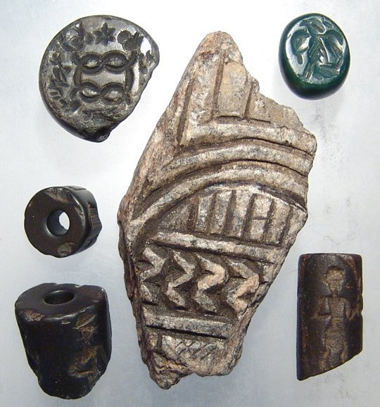 Group of seals & fragments Banks collection