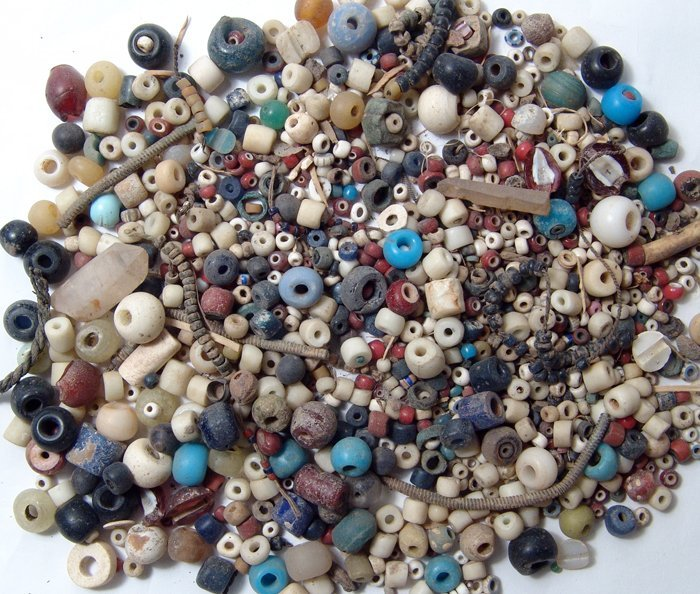 A Large Lot of Antique Beads