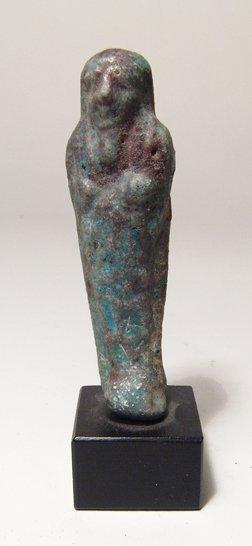 Egyptian faience ushabti, Ptolemaic Period