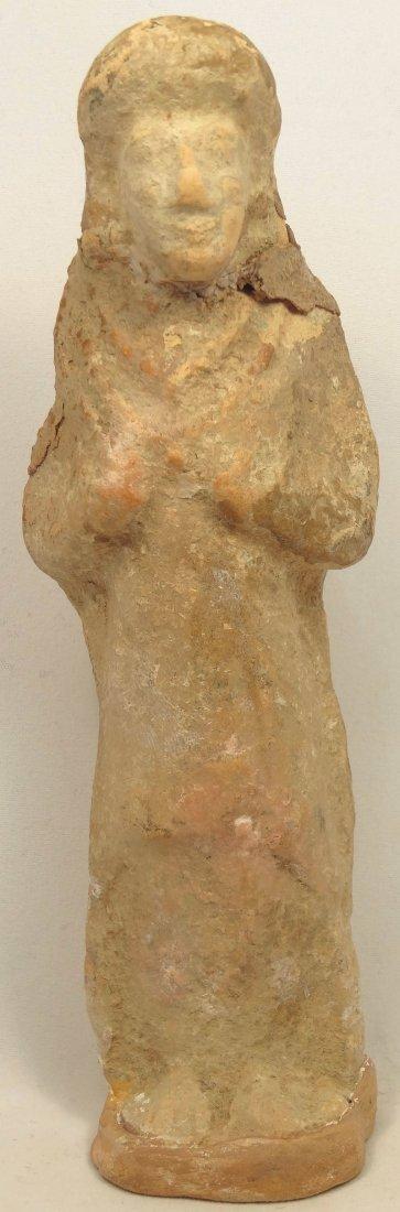Cypriot terracotta votive 'snow figure