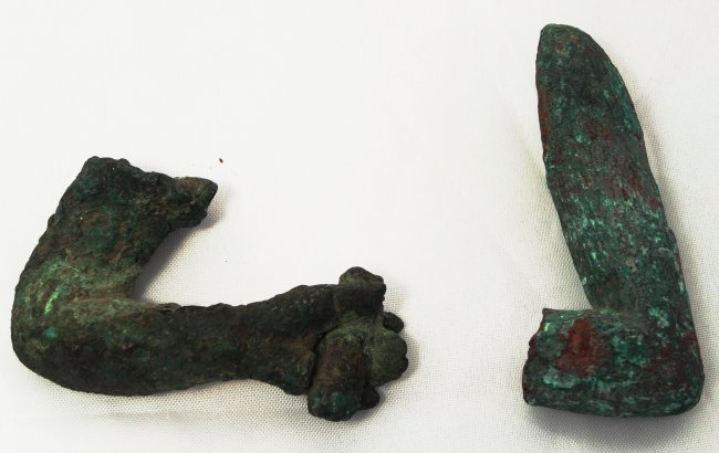 A group of 2 arm fragments