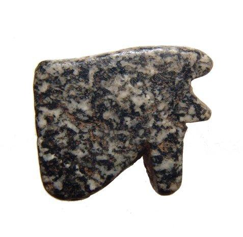 A nice diorite Wedjat or 'Eye of Horus' amulet