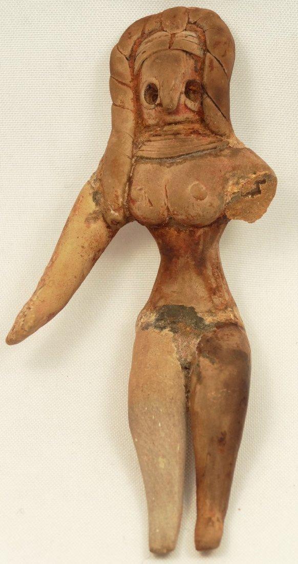 A Mehrgarh terracotta seated female figure