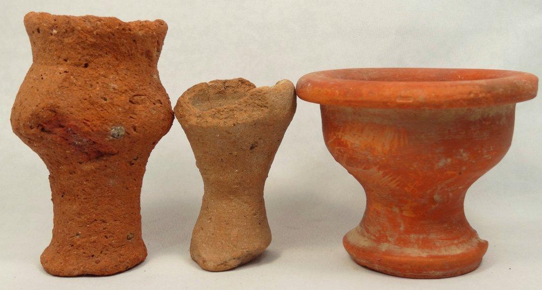Lot of 3 Roman votive cups