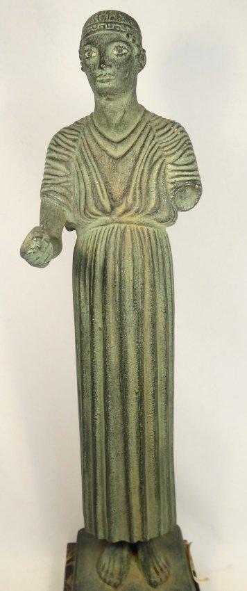 A 1962 Alva Museum Replica of the Charioteer of Delphi