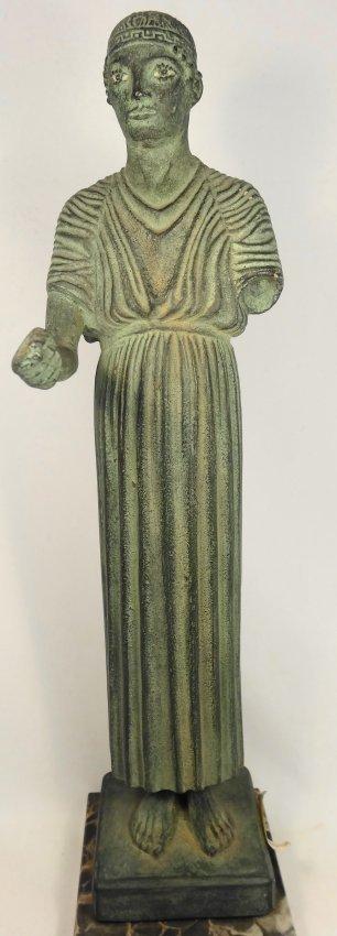 A 1962 Alva Museum Replica of the Charioteer of Delphi - 2