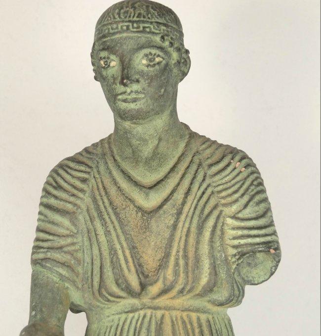A 1962 Alva Museum Replica of the Charioteer of Delphi - 3