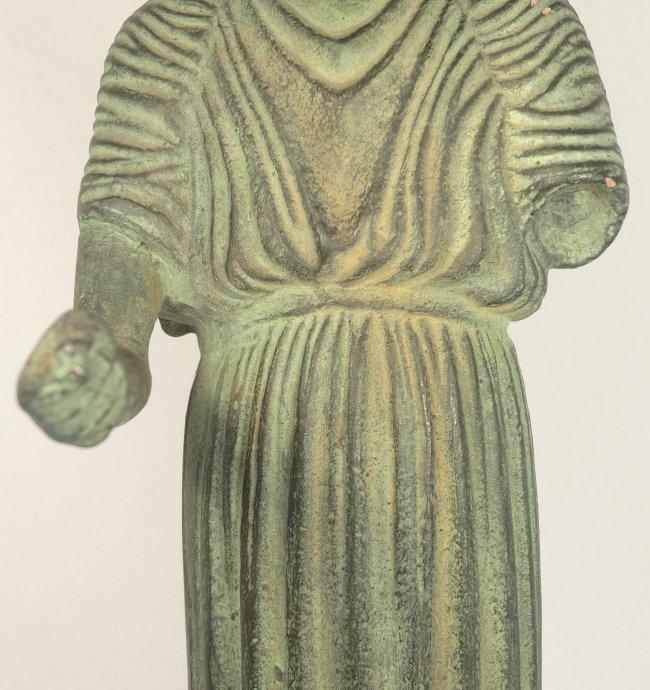 A 1962 Alva Museum Replica of the Charioteer of Delphi - 4