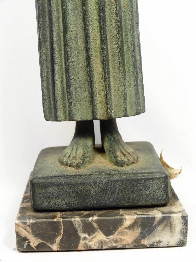 A 1962 Alva Museum Replica of the Charioteer of Delphi - 5