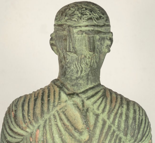 A 1962 Alva Museum Replica of the Charioteer of Delphi - 8