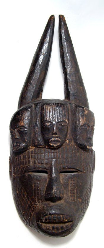 Mask from the Ibo tribe of Nigeria