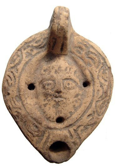 An interesting Roman terracotta lamp from Egypt